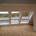 Panoramafenster im Dachgeschoss